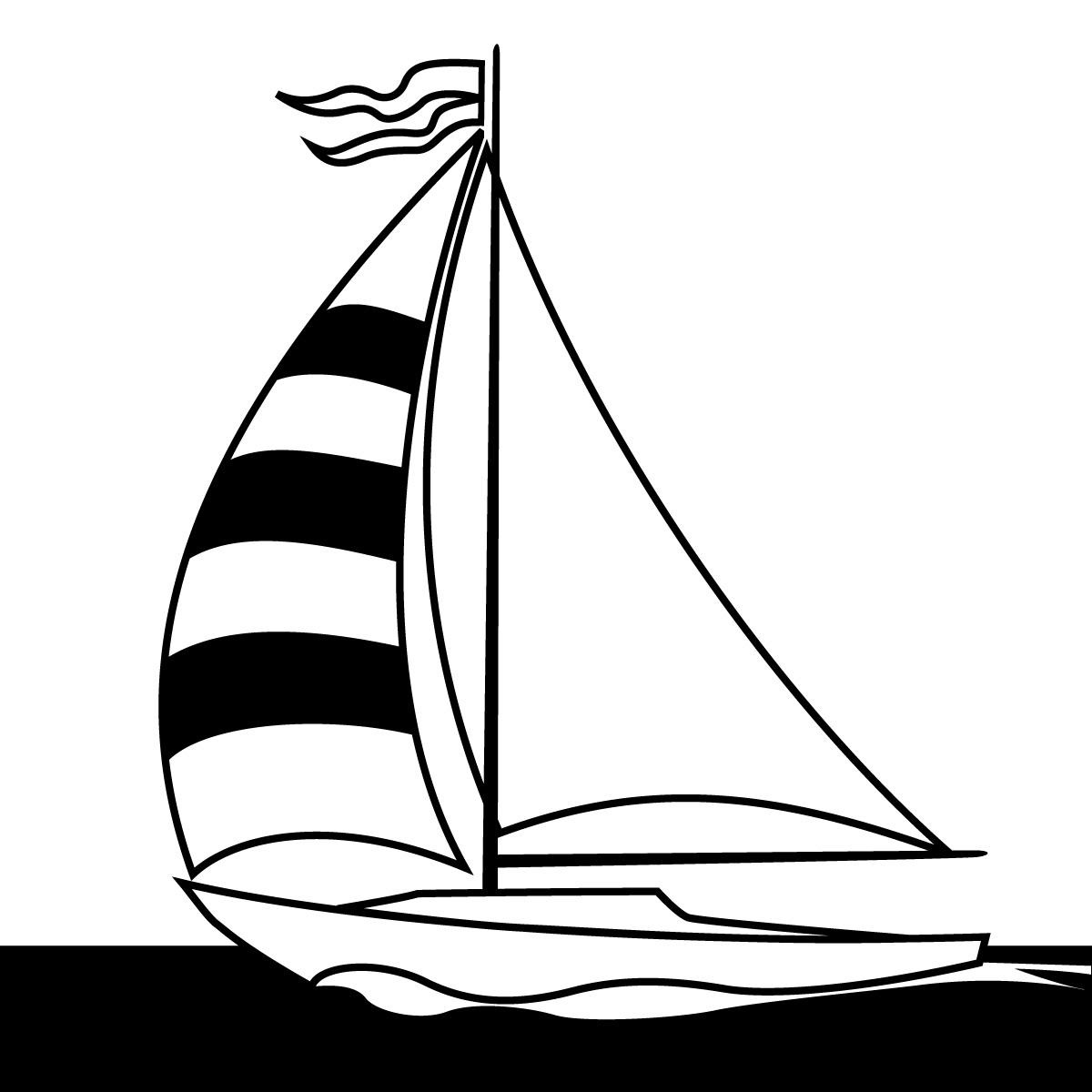 1200x1200 Clip Art Sail Boat