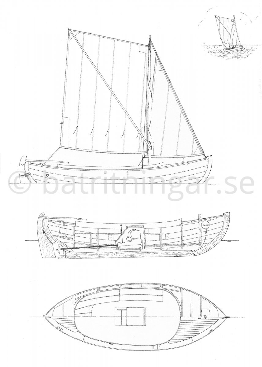 Sailing Boats Drawing