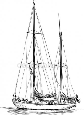 Sailing Boats Drawing At Getdrawings Com
