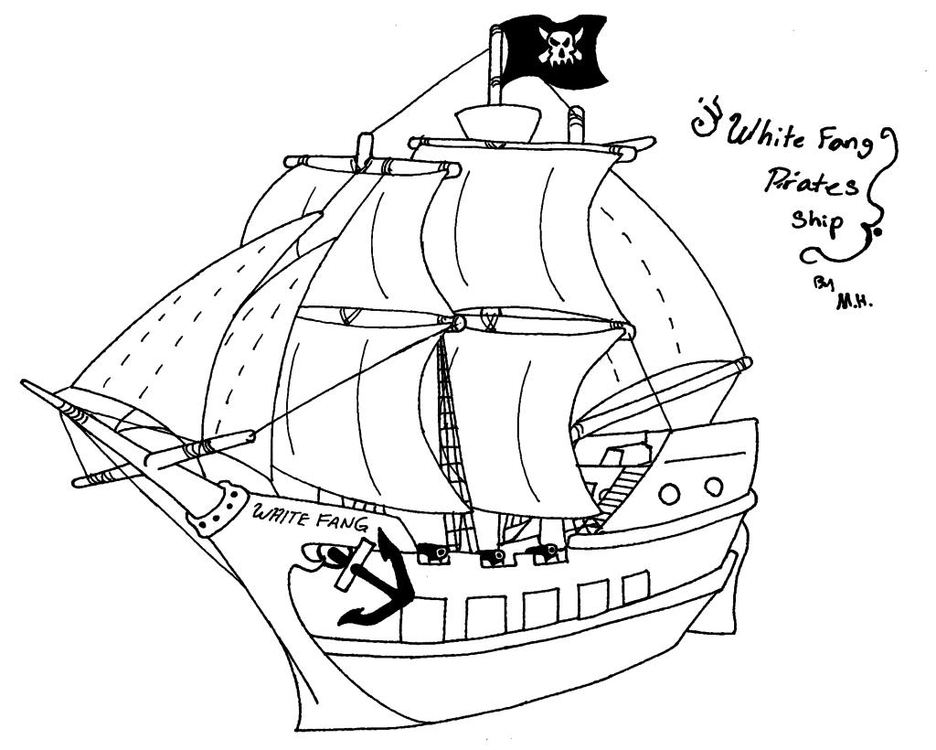 Sailing Ship Line Drawing at GetDrawings | Free download