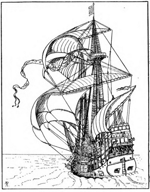 482x618 The Rise Of The Full Rigged Ships, A.d. 1400 1600