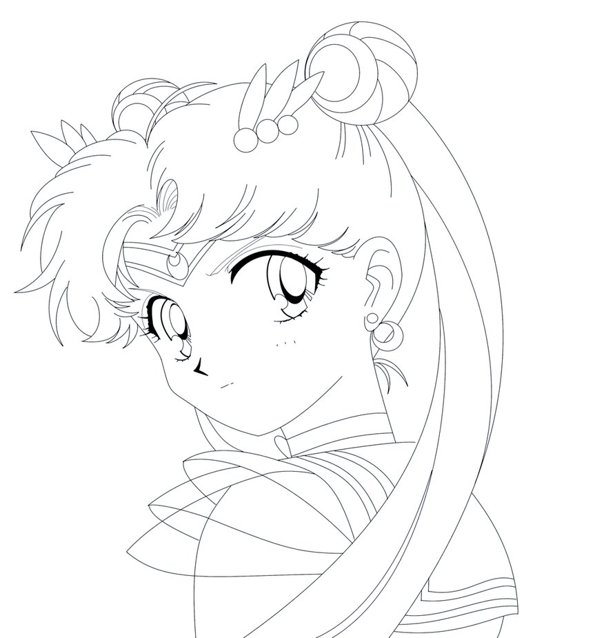 Sailor Moon Drawing