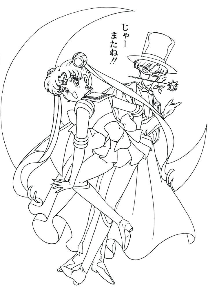 718x1024 Sailor Moon Coloring Book 2 7 Sailor Moon By Tsuki Matsuri