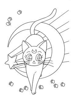236x330 Sailor Moon Series Coloring Pages Sailor Moon Sara'S