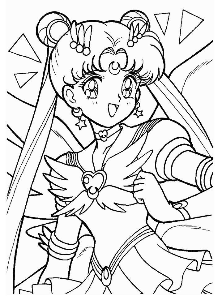718x957 Sailor Moon Coloring Pages Sailor Moon Sailor Moon