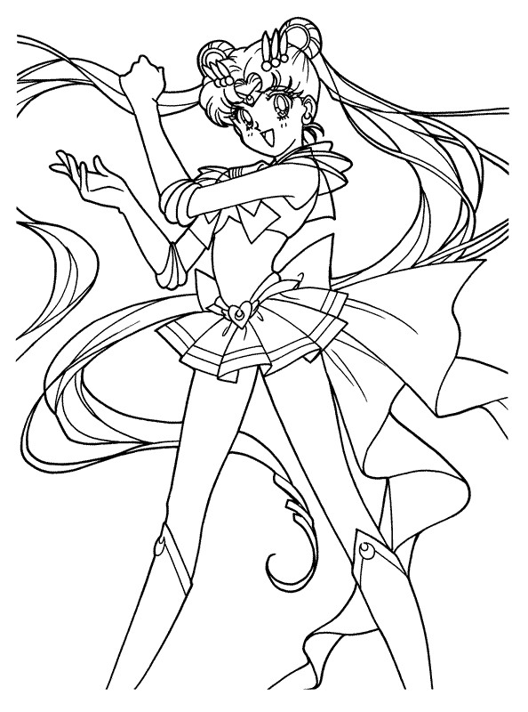 Sailor Moon Drawing Book at GetDrawings.com | Free for personal use ...