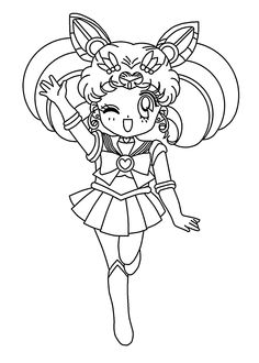 236x330 Sailor Moon Coloring Pages Printable