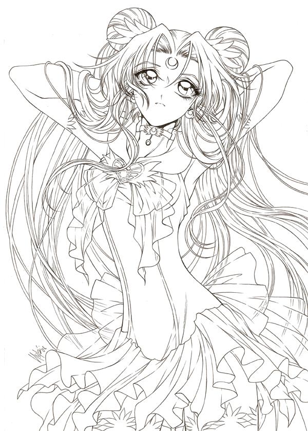 600x839 Sailormoon By Sailor Moon