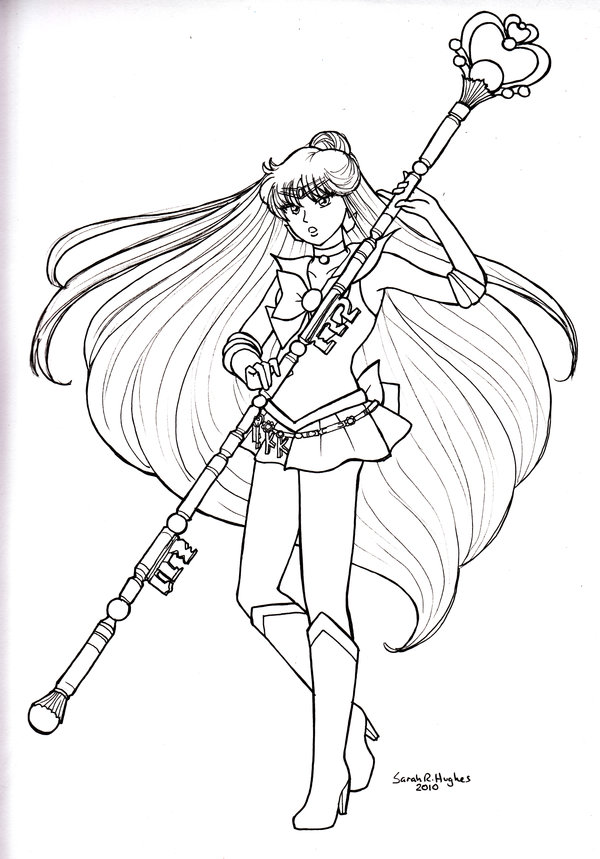 600x859 Color Me Sailor Pluto By Sakkysa On Lineart Sailor