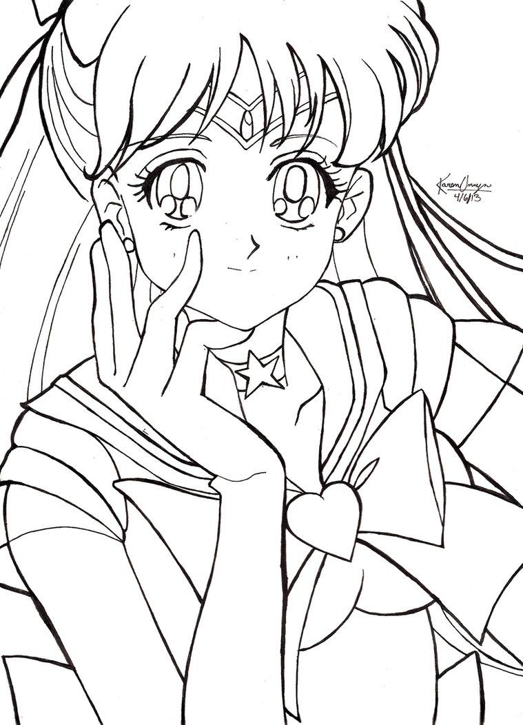 759x1052 Sailor Venus By Miserable Dreamer
