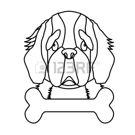 Saint Bernard Drawing