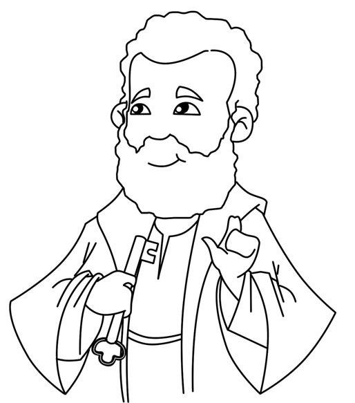 514x583 Saint Peter Simon Peter