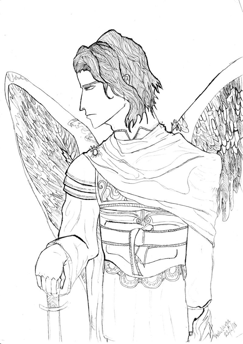 800x1132 Saint Michael The Archangel By Tash48