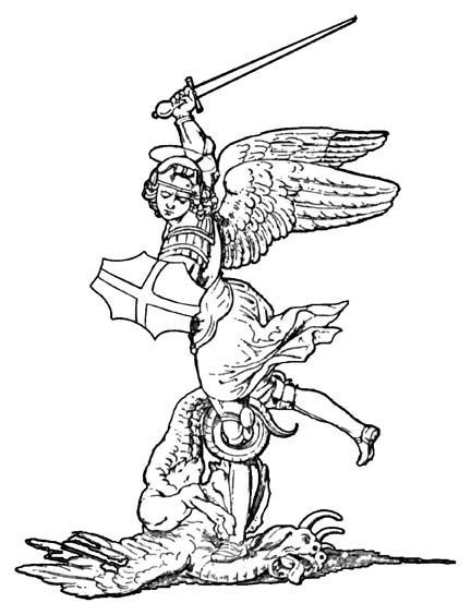 432x564 St Michael Coloring Page Coloring Page For Kids