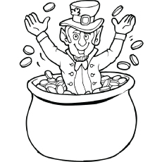 230x230 Top 25 Free Printable St. Patrick's Day Coloring Pages Online