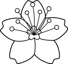 236x222 This Coloring Page For Kids Features A Black And White Cherry