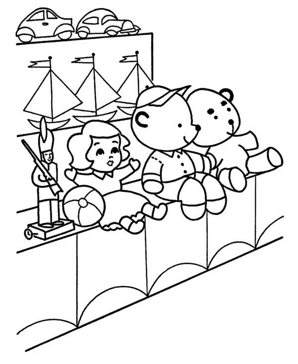 600x734 Toys For Sales Coloring Pages Best Place To Color