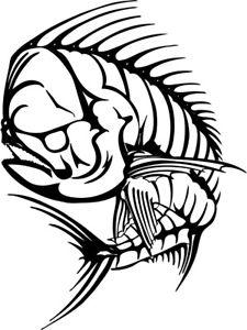 225x300 Mahi Fish Bones Fishing Bonefish Life Vinyl Ipad Ebook Kindle
