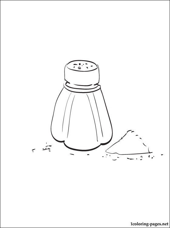 560x750 Salt Coloring Page Coloring Pages