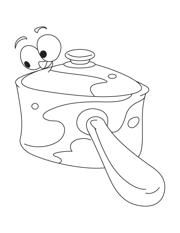 612x792 Best Photos Of Salt Shaker Coloring Page