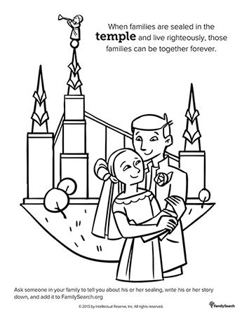 Salt Lake City Temple Drawing