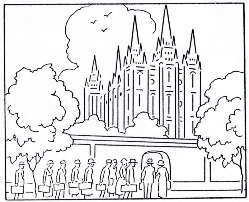 800x650 Salt Lake Temple Coloring Page Coloring Page For Kids