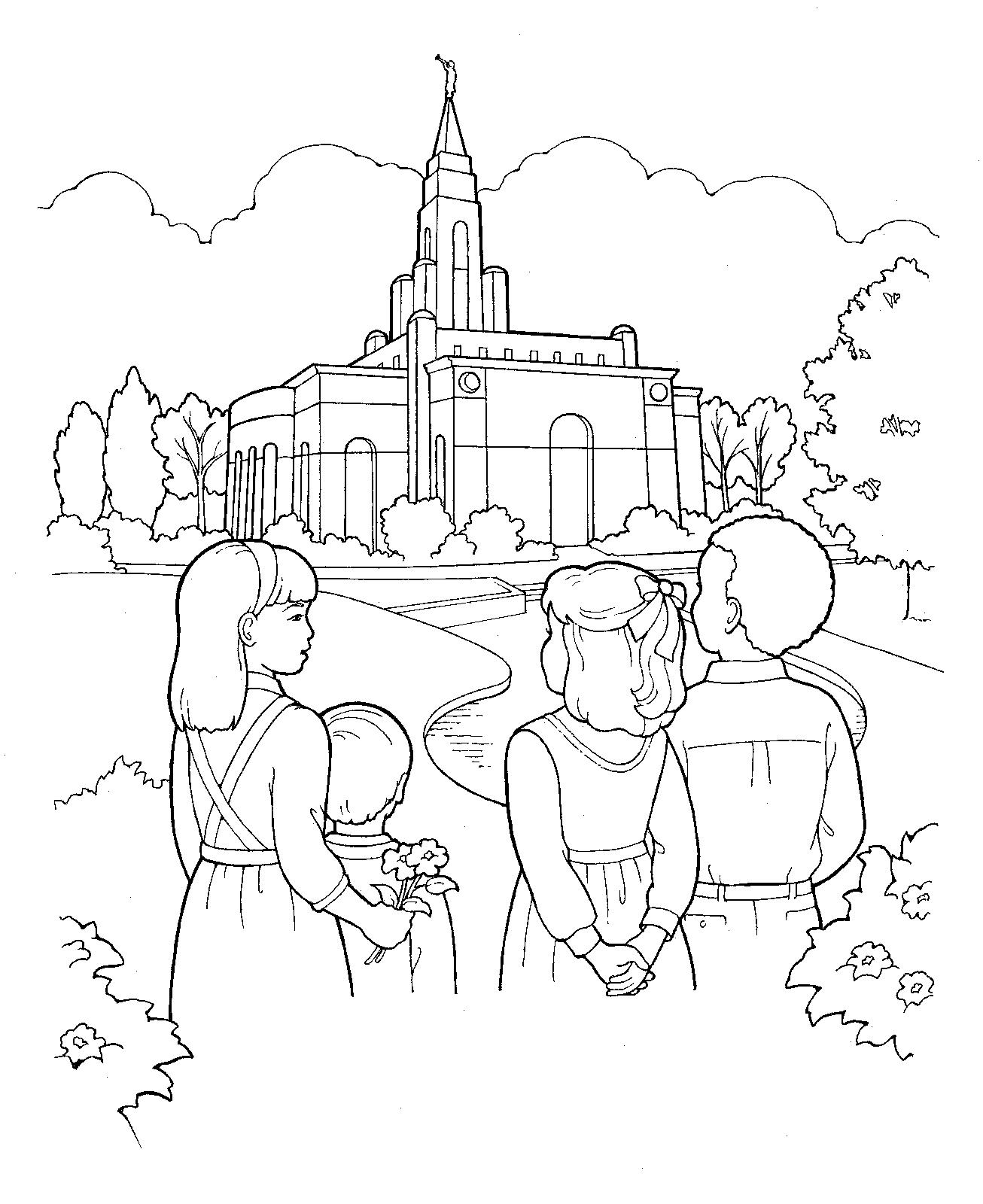 Salt Lake City Temple Drawing at GetDrawings.com | Free for personal ...