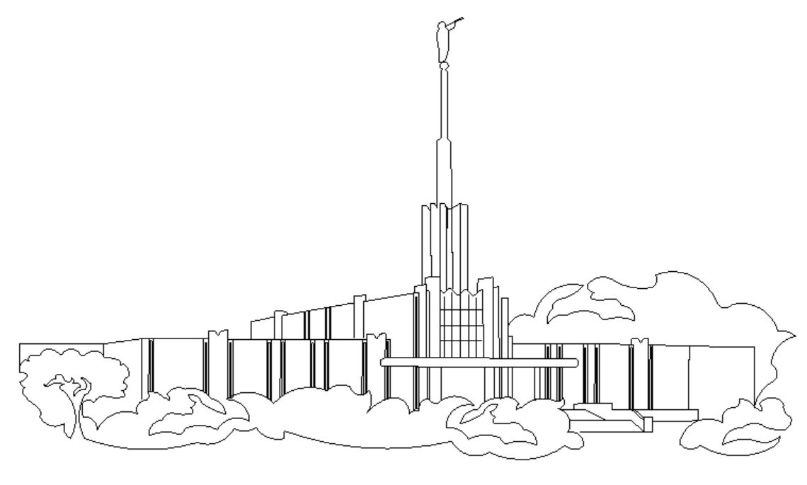 Salt Lake Temple Drawing At Getdrawings Com Free For Personal Use