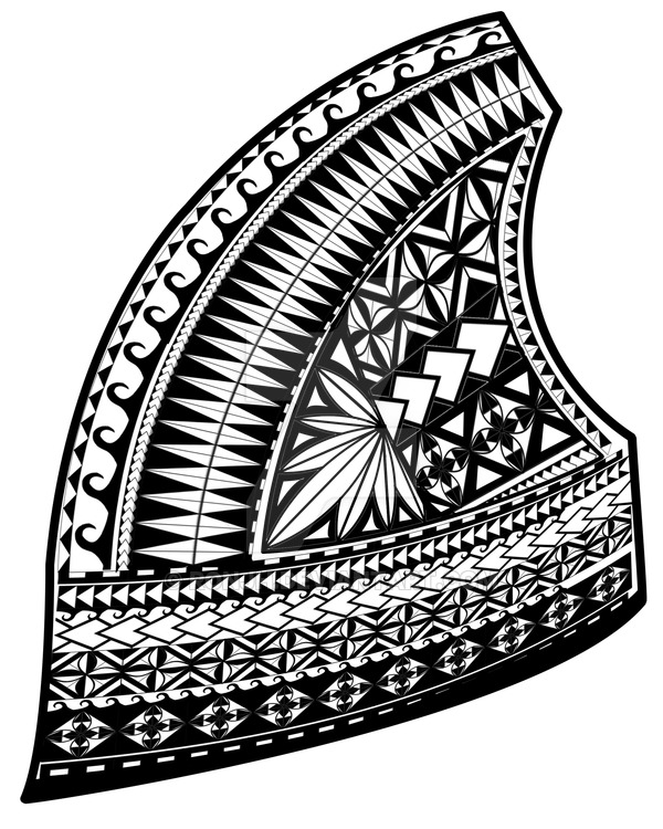 600x750 Samoan Design,upper Left Chest By Ronjh