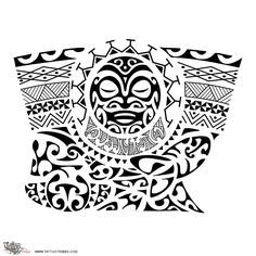236x236 Tahitian Tattoos Drawings Samoan Tattoo Maori Inspired Designs