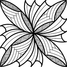 Samoan Flower Drawing
