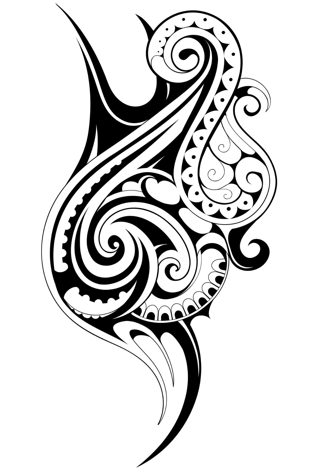 samoan tribal drawing at free for personal use samoan tribal drawing of your. Black Bedroom Furniture Sets. Home Design Ideas