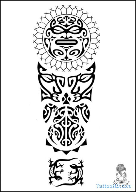 Samoan Tribal Drawing At GetDrawings