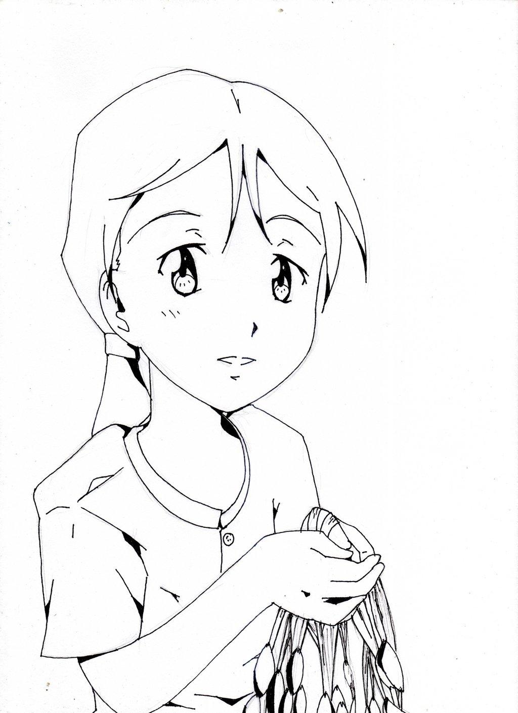 1024x1410 Sampaguita Girl (Flower Girl) By Fujiwaramasahiro
