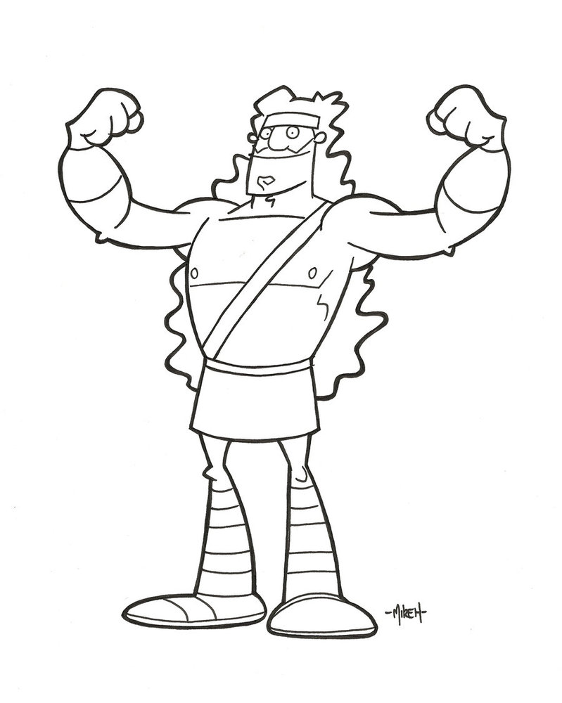 799x1000 Samson By Tyrannus