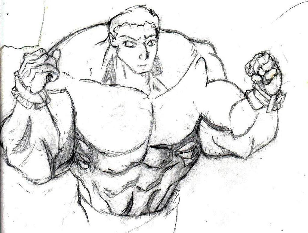 1024x775 Muscley Guy Brock, Brock Samson, Cool, Killer, Muscley Guy