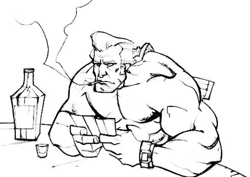 491x348 Samson Sketch By Alex0wens