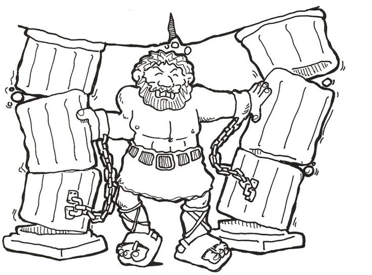 736x544 Coloring Pages Excellent Samson Page Sunday School On Samson Bible