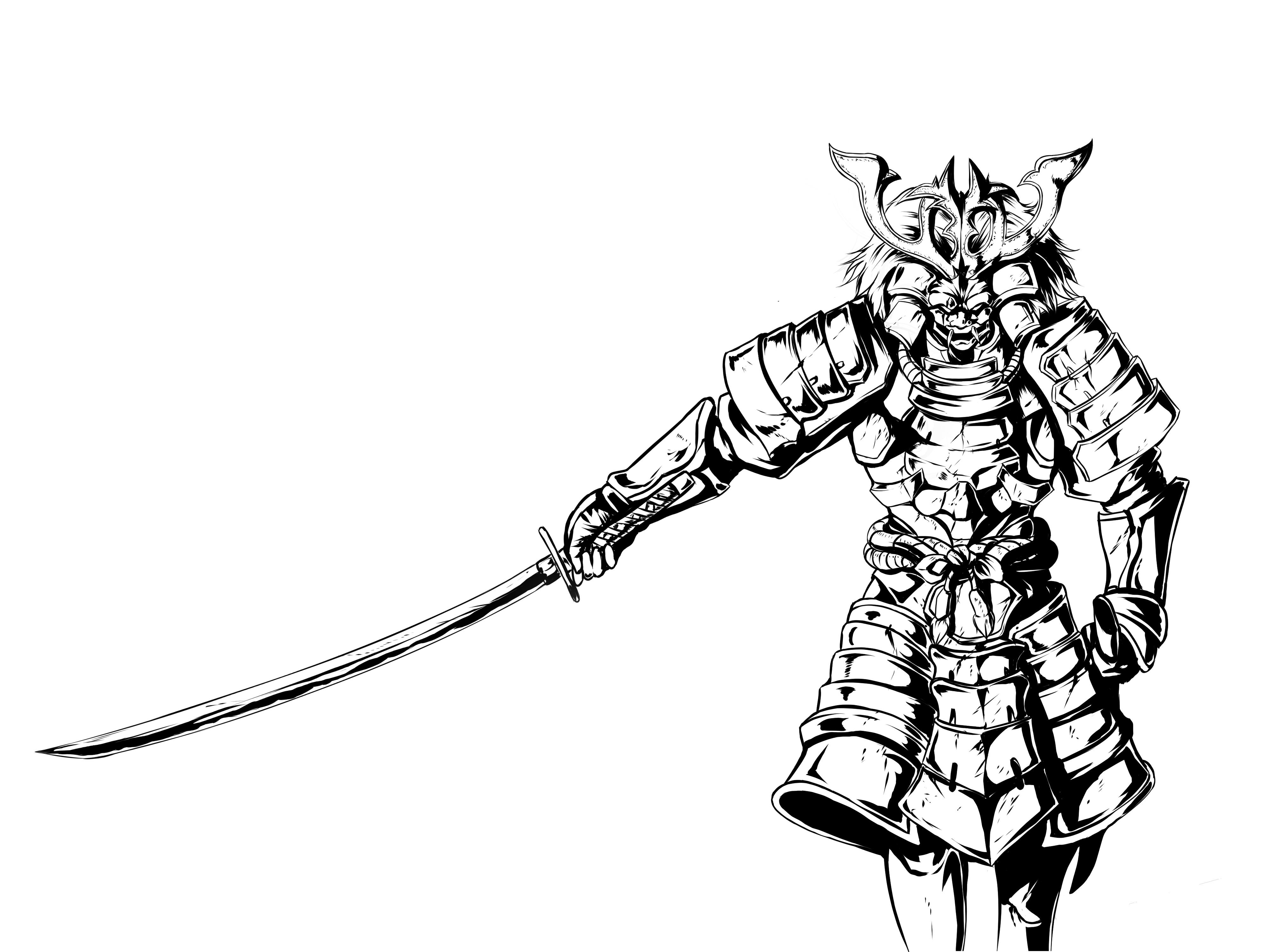 4000x3000 Samurai Wip For Sony By Irvintiu On Newgrounds
