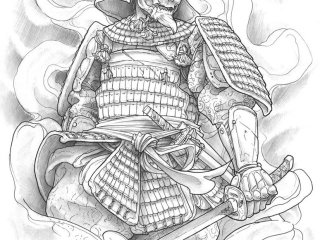 640x480 Samurai Warrior Tattoo Designs Samurai Tattoo Images Designs