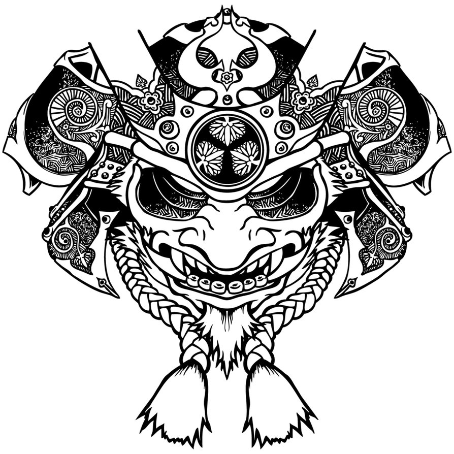 894x894 Samuraii By Othon