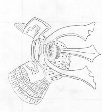 352x385 Samurai Helmet By Demonman119