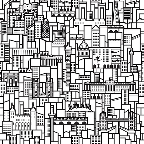 460x460 Look Hard And You'Ll Spot 21 London Buildings In Printed Space'S