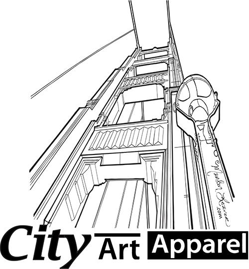500x540 City Art Apparel