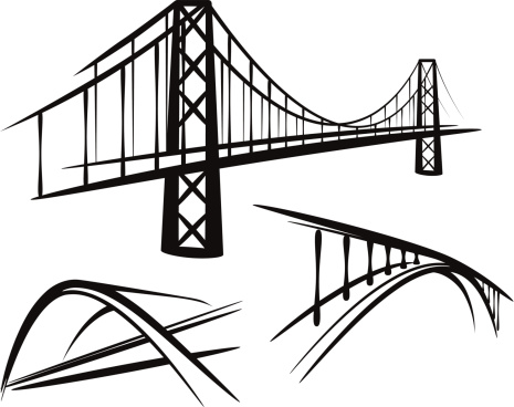 465x368 Bridge Illustrations Amp Vector Images Bridge, Free Vector Images