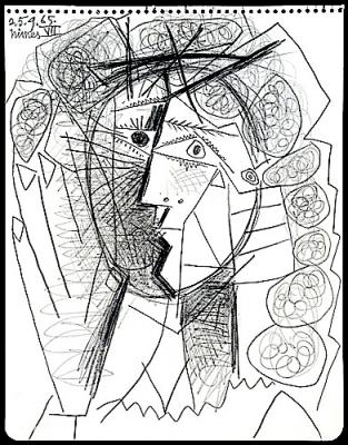 313x400 Art Hostage Stolen Art Watch, Picasso Drawing, Gone In Sixty