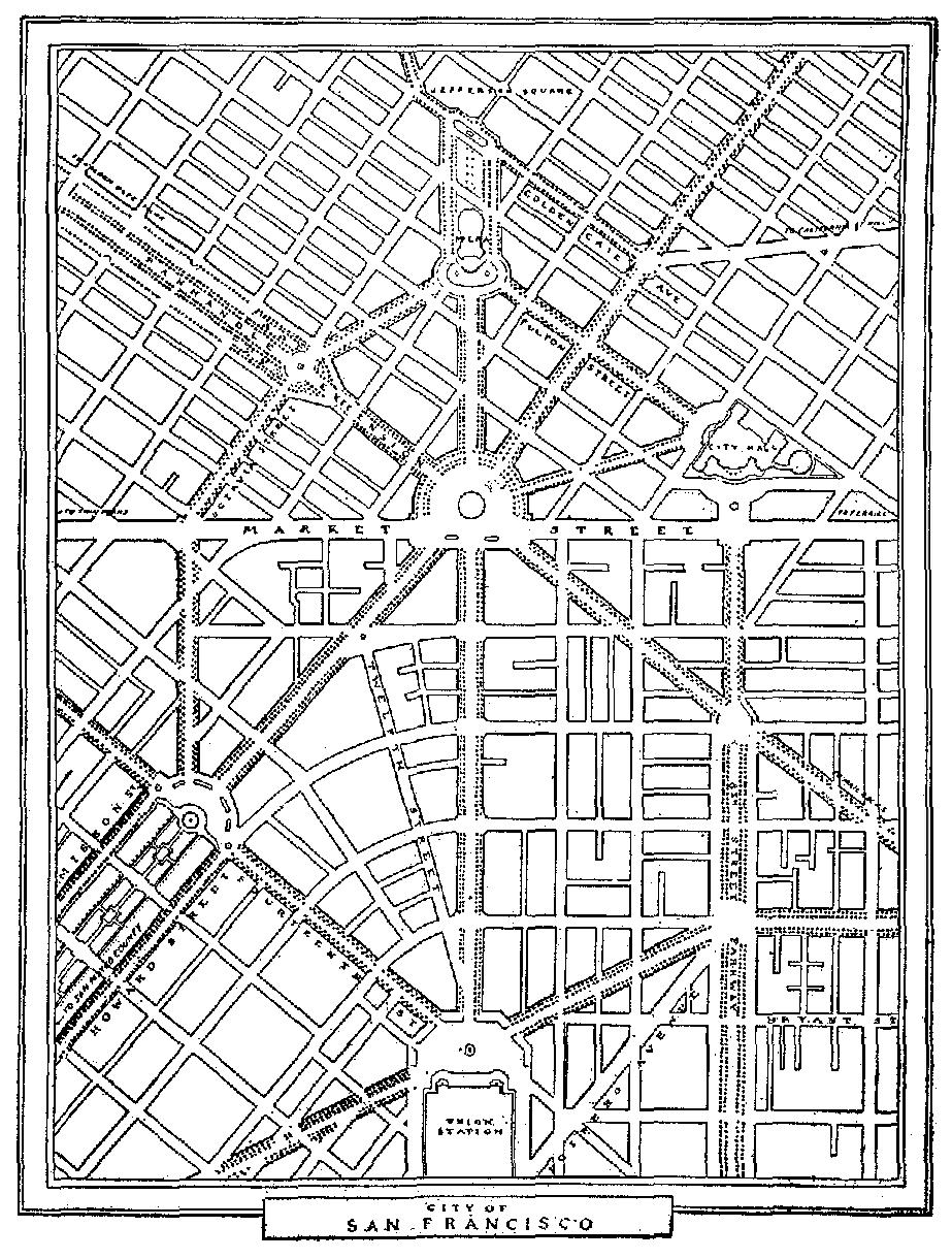 923x1220 San Francisco City Plan Maps And Charts San