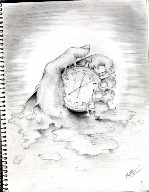 476x614 Mystery Clock Drawing