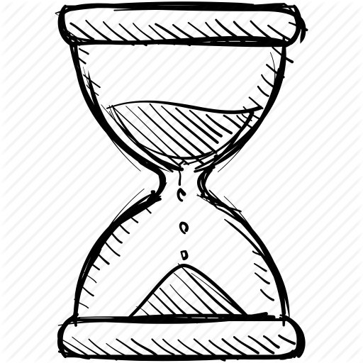 512x512 Clock, Hourglass, Sand, Sandglass, Time, Timer, Wait Icon Icon