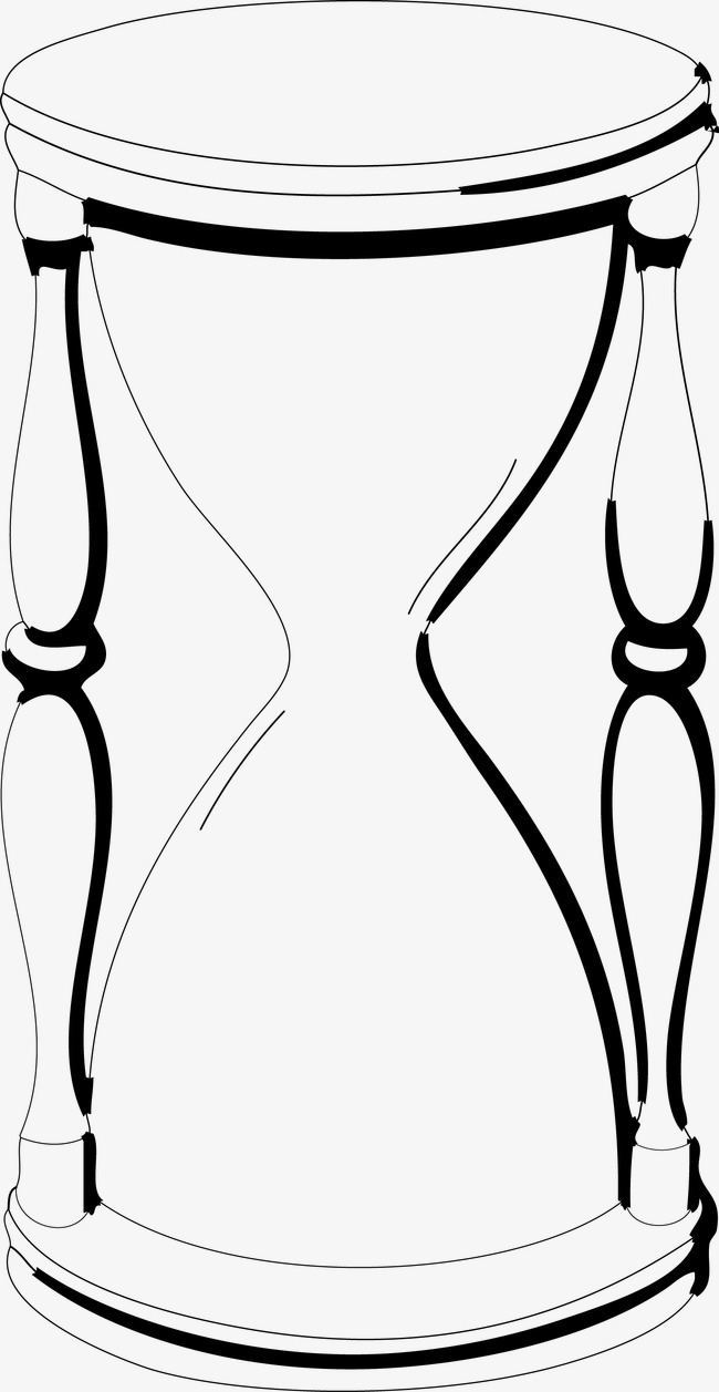 650x1257 Hourglass, Timing Equipment, Sand Clock, Sand Pot Png And Vector